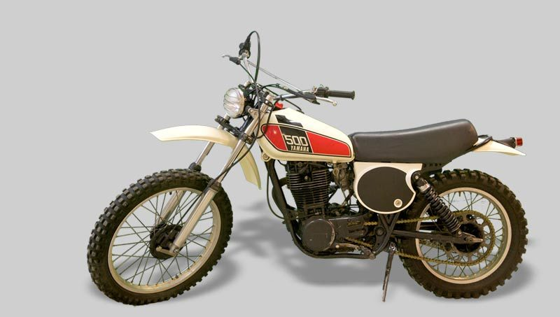 YAMAHA  TT 500 – Vendue