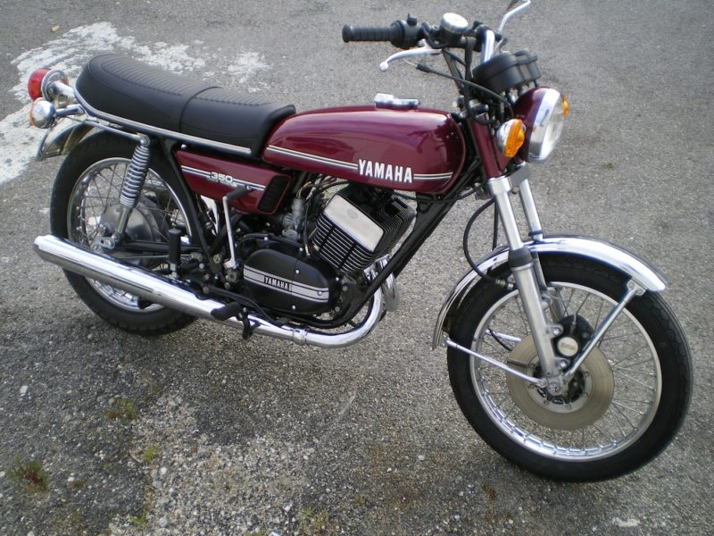 Yamaha RD350 de 1973-Vendue